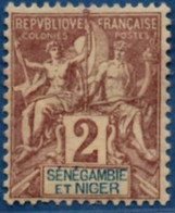 Senegambie & Niger 1903 2 C MH 1 Stamp 2104.1067 - Unused Stamps