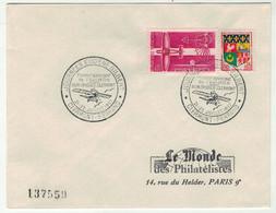 France // FDC 1960-1969 // Journées Eugene Gilbert, Le Monde Des Philatélistes 21-22/7/1962 - 1960-1969