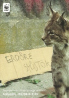 WWF PANDA * LYNX * CAT * ANIMAL * Boomerang 003 * Hungary - Other