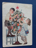 USSR PROPAGANDA  Postcard -New Year Tree  - 1966 - Pioneer - Russia