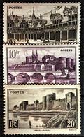 FRANCE 1941 - MNH - YT 499-501 - Nuovi