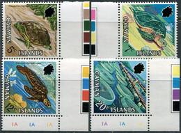 Cayman Isl. 1971. Mi.#282/85 MNH/Luxe. Animals. Reptiles. Turtles (Ts018) - Cayman Islands