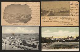 Conjunto De 4 Postais Do ALENTEJO: Évora (2) + Elvas (2). Set Of 4 Old Postcards PORTUGAL - Portalegre