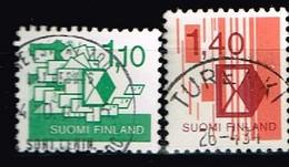 FINLANDE / Oblitérés / Used /1984 - Classification D'Envois Postaux - Gebraucht