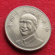 Taiwan 10 Yuan 1985 ( 74 ) Y# 553  Lt 187 China Formosa Chine - Taiwan