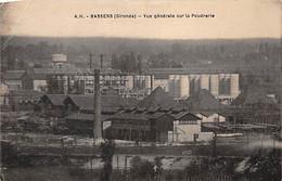 BASSENS - Vue Générale Sur La Poudrerie - état - Sonstige Gemeinden