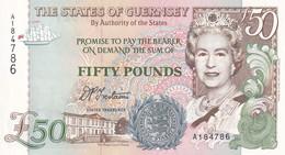 Guernsey, 50 Pounds, 1994, P#59, UNC - Guernsey