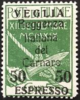 ITALIA - VEGLIA - Espresso N. 2 - Cat. 1125 Euro - Con Certificato - Gomma Integra - MNH** Timbrino Di Garanzia Al Verso - Arbe & Veglia