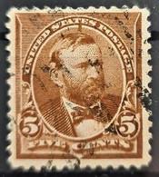 USA 1895 - Canceled - Sc# 270 - 5c - Usati