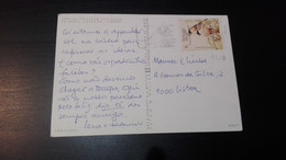 Portugal - Postal Circulado (WWF) - Covers & Documents