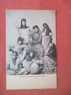 Group Of Arabian Girls Aden   Ref 4843 - Africa