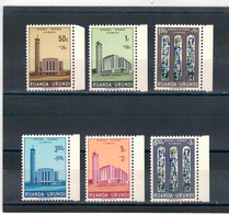 1961 - Au Profit De La Cathédrale D'Usumbura. - 1948-61: Nuovi