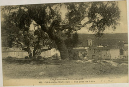 925 - PLAN DE LA TOUR - Vue Prise De L'Aire - Otros Municipios