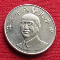Taiwan 10 Yuan 1994 / 83 Y# 553  Lt 191 *V2 China Formosa Chine 10 Dollars - Taiwan