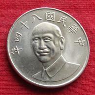 Taiwan 10 Yuan 1995 / 84 Y# 553 Lt 39 *V2 China Formosa Chine 10 Dollars - Taiwan