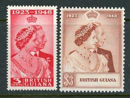 British Guiana MNH Silver Wedding 1948 - British Guiana (...-1966)
