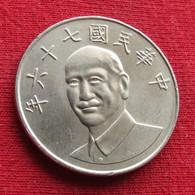 Taiwan 10 Yuan 1987 / 76 Y# 553  Lt 213 *V2  China Formosa Chine 10 Dollars - Taiwan
