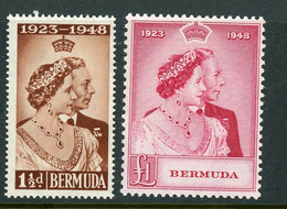 Bermuda MNH Silver Wedding 1948 - Bermuda