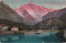 Schweiz - Interlaken - Schiffeinfahrt - Ca. 1920 - BE Berne