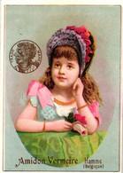 1 Calendrier 1889 Amidon Vermeire Hamme Vermeire's Starch - Small : ...-1900
