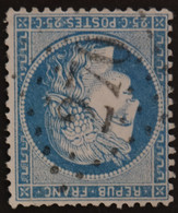 60A Obl GC 270 Ayron (80 Vienne ) Ind 8 ; Frappe Très Nette Et TB Centrée - 1849-1876: Classic Period