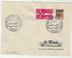 France // FDC 1960-1969 // Meeting National Aéronautique, Le Monde Des Philatélistes 24//6/1962 - 1960-1969