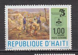 Haïti, Haitia, MH, Scout, Scoutisme, Environnement, Environment, Plantation Arbre, Tree Planting - Ongebruikt