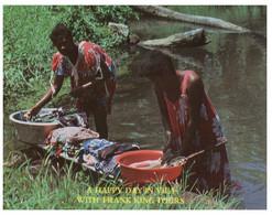 (NN 9) Vanuatu (ex New Hebrides / Nouvelle Hebrides) Vila King Tours (woman Laundering In River) - Vanuatu