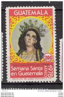 ##14, Guatemala, Religion, Statue, Immaculée Conception, Vierge, Madonne, Marie Reine Du Monde - Guatemala