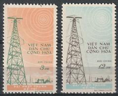 North Viet Nam - 1959 - Sc 100 - 101 - Me Tri Radio Station - MNH - #8 - Vietnam