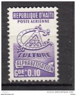 ##14, Haïti, Haitia, Alphabetization, Culture, Airmail - Haiti