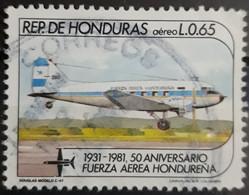 HONDURAS 1983 Airmail - The 50th Anniversary Of Honduras Air Force. USADO - USED. - Honduras