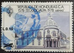 HONDURAS 1989 Airmail - Previous Issues Surcharged. USADO - USED. - Honduras