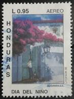 HONDURAS 1992 Airmail - General Francisco Morazan Hydroelectric Project. USADO - USED. - Honduras