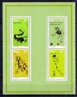 RSA 1976 MNH SS, Sports, Cricket, Golf, Polo, Bowling - Golf