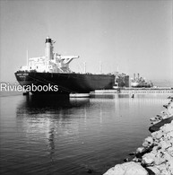 Negatif Photo Original - Navire Pétrolier Grec MANDROS ORION à Fos Sur Mer Ship - Boats