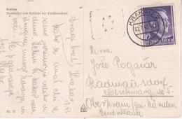 6514--AK  KRAKOV  1943- Nach  RADMANSDORF  RADOVLJICA - Polonia