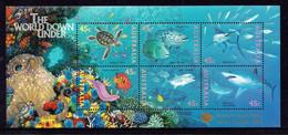 Australia 1995 MiNr. 1505 - 16 (Block 20 III) Australien Marine Life Fishes Overprint (Brisbane Stamp Show) S\sh 8,00 € - Philatelic Exhibitions