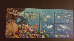 Australia 1995 MiNr. 1505 - 16 (Block 20 V) Australien Marine Life Fishes Overprint (Swanpex WA) S\sh MNH ** 8,00 € - Philatelic Exhibitions