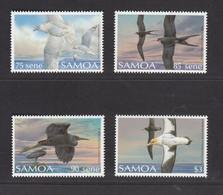 Samoa 1989, Bird, Birds, Set Of 4v, MNH** - Seagulls