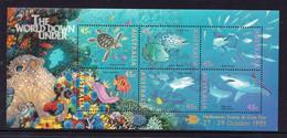 Australia 1995 MiNr. 1505 - 16 (Block 20 IV) Marine Life Fishes Overprint Melbourne Stamp & Coin Fair S\sh MNH ** 8,00 € - Philatelic Exhibitions