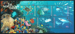 Australia 1995 MiNr. 1505 - 16 (Block 20 ) Australien Marine Life Fishes Turtles S\sh MNH ** 6.50 € - Fishes