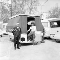 Negatif Photo Original - Exposition Caravanes De Camping Casita Et Gruau à Marseille - Cars