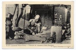 A.O.F. (Ancienne HAUTE-VOLTA) - Fabricant De Statueets à Bobo Dioulasso (S87) - Burkina Faso