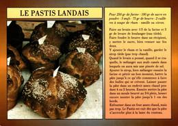 Recette De Cuisine Le Pastis Landais          CPM Ou CPSM - Recipes (cooking)