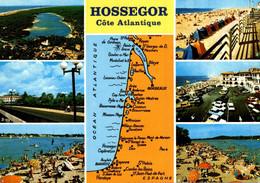 Souvenir De Hossegor Cote Atlantique         CPM Ou CPSM - Gruss Aus.../ Grüsse Aus...