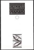 ZW2406/07  Feuillet En Noir Blanc Europa 1991 - MNH** - LOOK!!!! - Black-and-white Panes