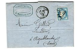 45703 - DISTILLERIE DE ST  MARCELLIN - 1849-1876: Classic Period