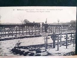 62 , Béthune  , Le Cimetière Des Anglais Après Guerre - Bethune