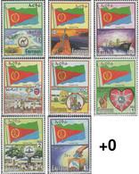 Ref. 645078 * MNH * - ERITREA. 2000. NATIONAL SYMBOLS . SIMBOLES NACIONALES - Eritrea